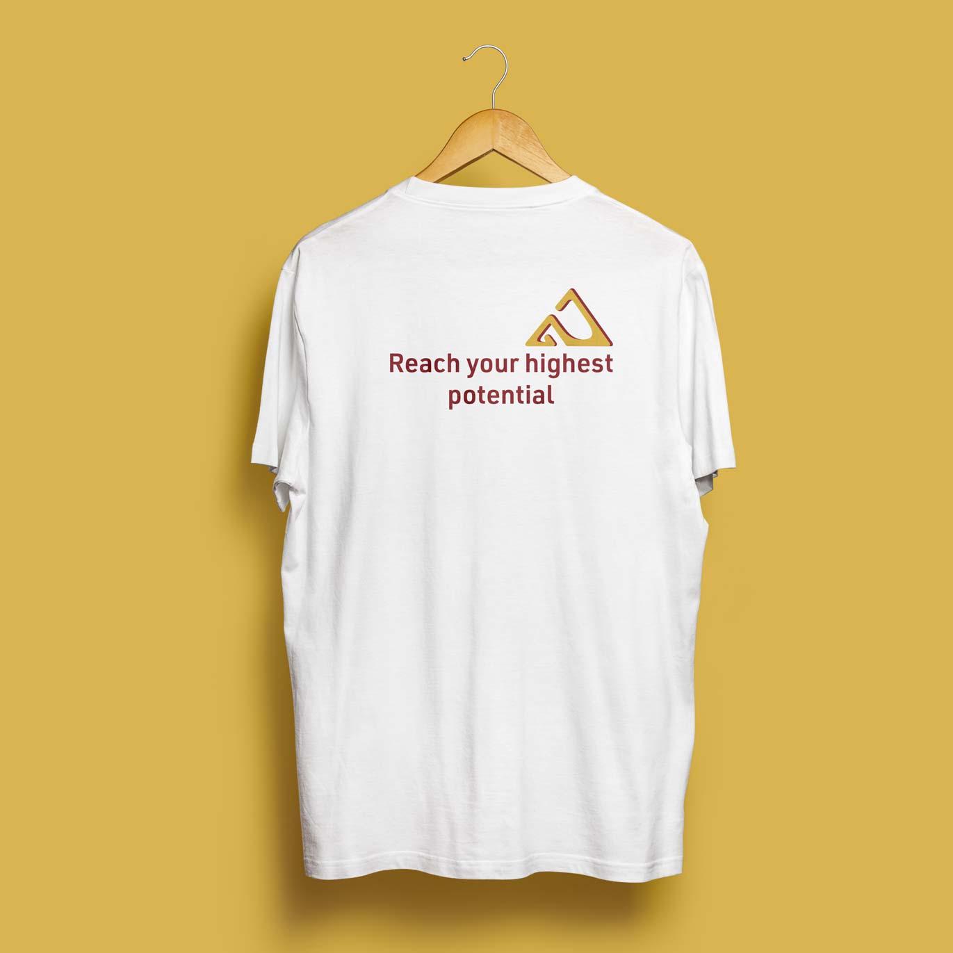 T-shirt and Logo design for Gold Summit Tutoring by Alina Demidova