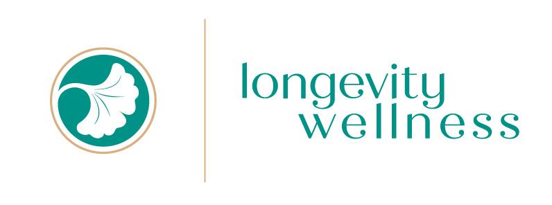longevity wellness logo brand identity Alina Demidova