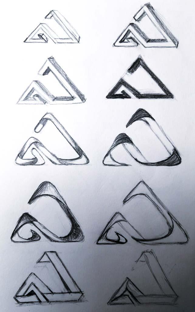 Logo design for Gold Summit Tutoring by Alina Demidova
