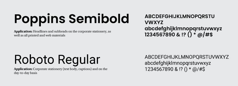 typefaces for a logo design